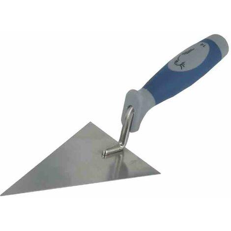 Truelle triangulaire inox bi-matière Outibat