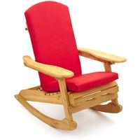 Sedia sdraio legno al miglior prezzo - Cuscino per sedia a dondolo ...