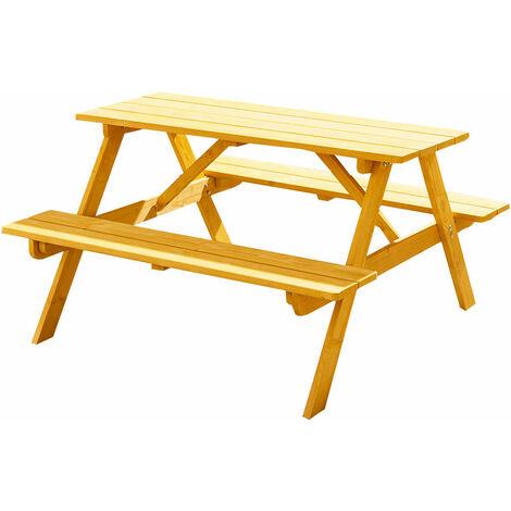 Trueping Childrens Garden Panda Picnic Bench Table Set P 453939 2266788 1 Jpg