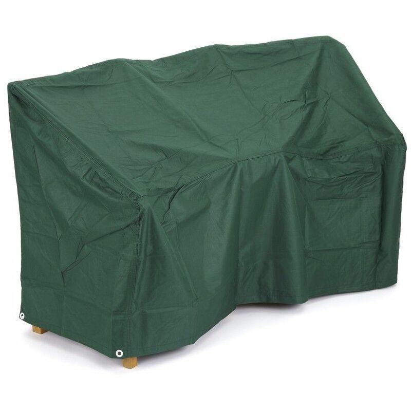 Trueshopping - Housse de Protection waterproof pour Incurvé Canapé d'extérieur 2 Places