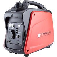 Trueshopping Petrol Digital Inverter Generator 1200W 1.6HP 60cc 230v
