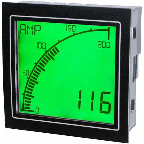 Trumeter APM-AMP-APO APM Ammeter Positive LCD with Outputs