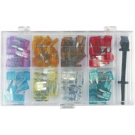 Set of seven Mini Blade Fuses