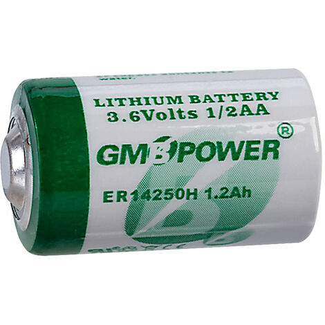 TruPower Half AA Tcl Battery Untagged