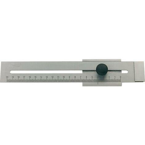 Trusquin à tracer haute précision 200mm FORMAT 1 PCS