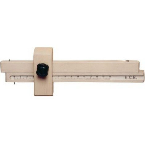 Trusquin à tracer n° 217 S/217 P, Modèle : Avec support en bois de gaïac