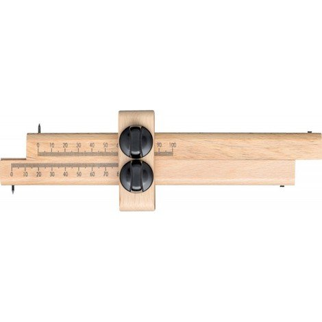 Trusquin avec deux vis 170mm FORTIS