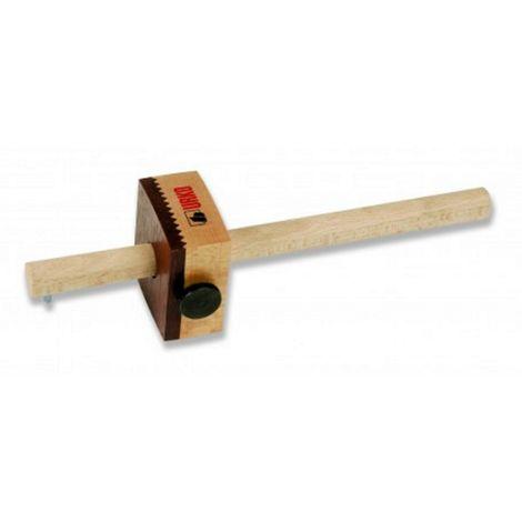 Trusquin URKO - bois de hêtre - blocage par vis - 550