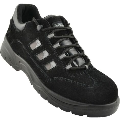 TS1P Black Safety Trainers