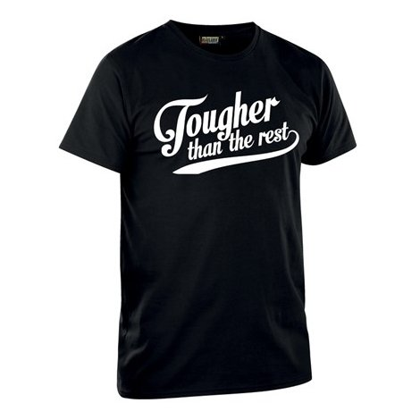 "TSHIRT ED LIMITÉE ""TOUGHER THAN THE REST"" BLAKLADER"