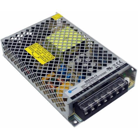TT Electronics SRS-150-12 Enclosed Power Supply 12V DC 12.5A 150W
