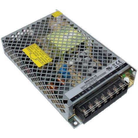 TT Electronics SRS-150-15 Enclosed Power Supply 15V DC 10A 150W