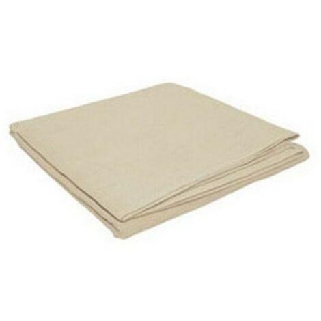 TTD COTTON129 Cotton Twill Dust Sheet 12' x 9'