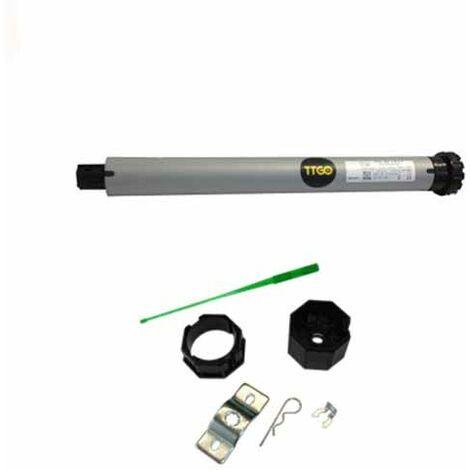 TTGO Moteur tubulaire 230V volet roulant électrique 60Kg / 30Nm compatible FAAC SOMFY CAME NICE