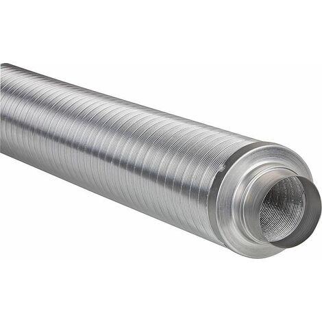 Tube amortisseur sonore flexible pour telephonie diam 150 mm insonorisation 50 mm
