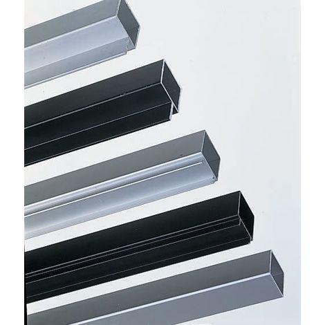 Tube carré Aluminium RS PRO 25mm, longueur de 2m