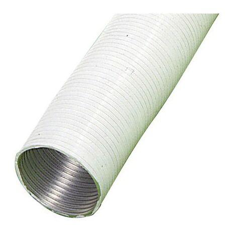 """main image of """"Tube compact en aluminium blanc Ø 100 mm./ 5 mètres"""""""