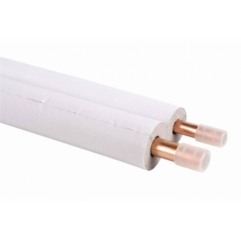 Tube cuivre double 1/4-5/8 pré-isolé M1