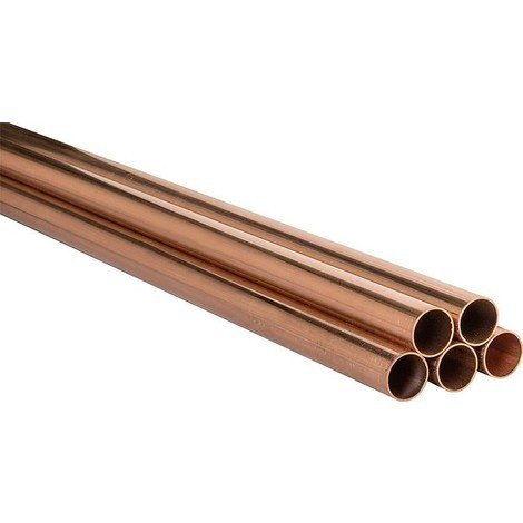 Tube Cuivre En Barre 10 Tubes De 5 Metres 35x12mm Certifié Dvgw