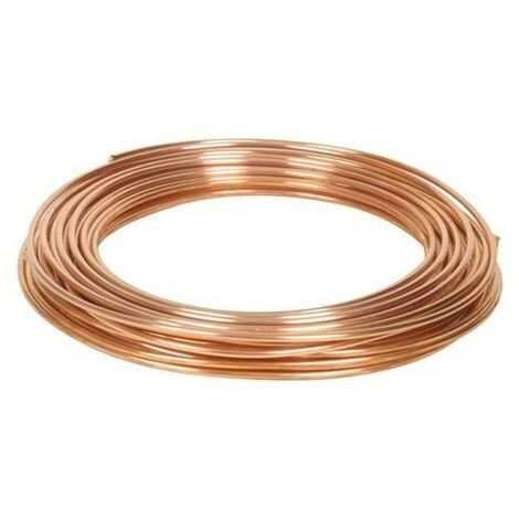 Tube cuivre recuit pour chauffage et eau chaude sanitaire 10/12 couronne de 50m