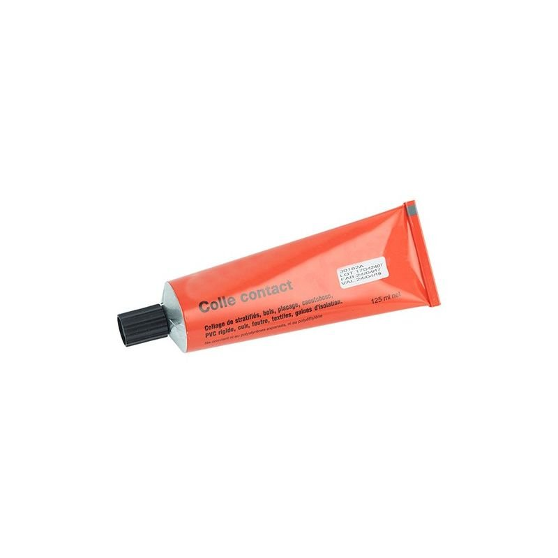 Tube de colle 125 ml pour garniture de volant liège sur scie à ruban - COLI - Drom'scies