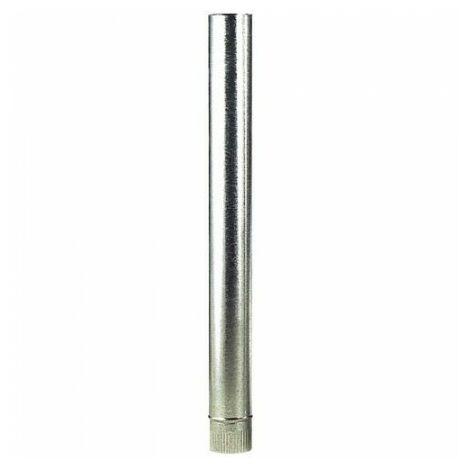 Tube de poêle galvanisé 110 mm.