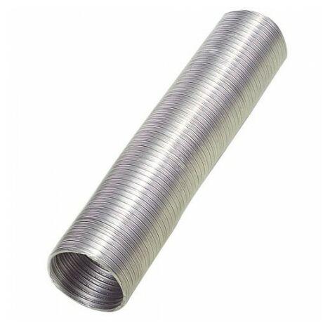 Tube en aluminium compact gris Ø 120 mm./ 5 mètres