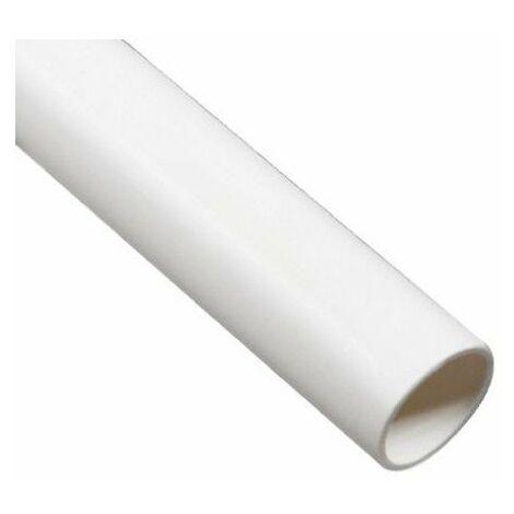Tube en PVC 2 mètres diamètre 51mm extérieur