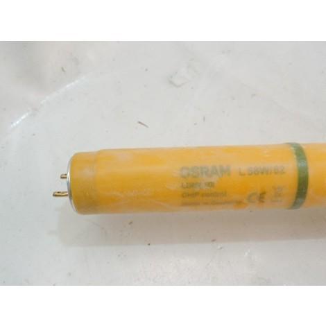 Tube fluo T8 58W couleur jaune 62 longueur 1500mm CHIP CONTROL Ledvance OSRAM 232748