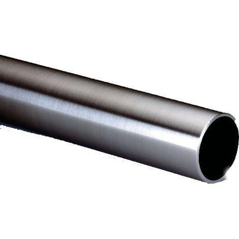 Tube inox 316 poli Ø40 mm Épais.1.5 mm L.2.50M INOX IMPORT pour poignée de tirage - 186
