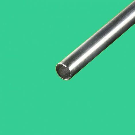 "main image of ""Tube inox brossé diametre 25mm"""