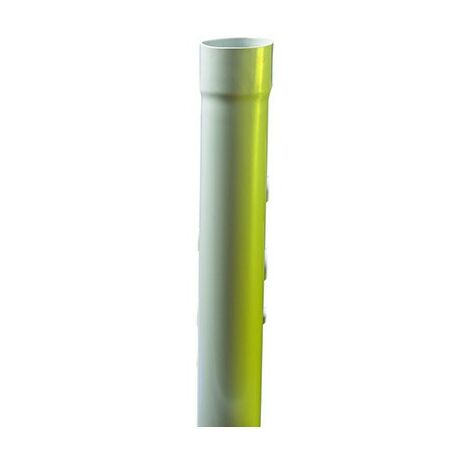 Tube IRL 3321 - Tulipe - Gris - Diamètre 20 mm - Longueur 3 m - Iboco