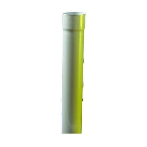 Tube IRL 3321 - Tulipe - Gris - Diamètre 25 mm - Longueur 3 m - Iboco