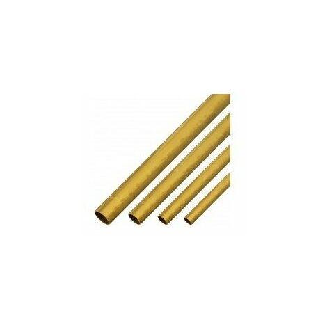 Tube laiton diam.5mm x 1metre vr809-laiton 5mm