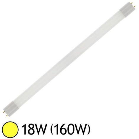 Tube LED 18W (160W) G13 T8 1200 mm Blanc chaud 3000°K