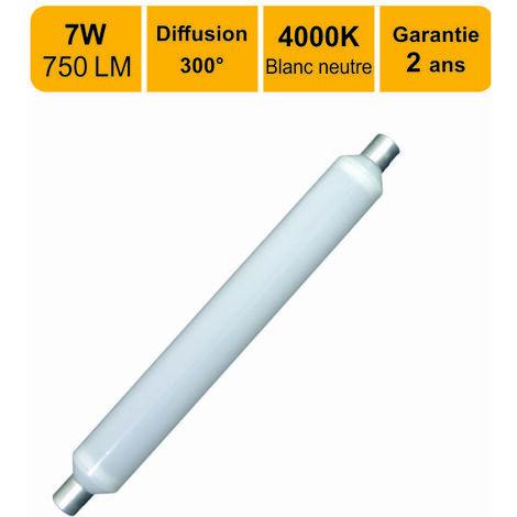 TUBE LED LINOLITE S19 7W (EQUIV. 50W) 560 LM BLANC NEUTRE (4000K)