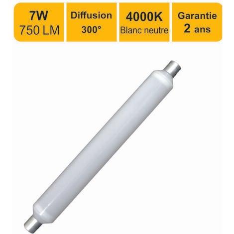 "main image of ""Tube LED linolite salle de bain S19 7W (Equiv. 50W) 750 LM 4000K - garantie 5ans"""