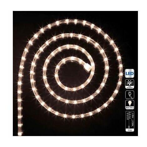 """main image of """"Tube lumineux guirlande à LED 40m - Blanc froid - 8 fonctions - Livraison gratuite"""""""