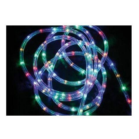Tube lumineux guirlande à LED 24m - Multicolore - 8 fonctions - Livraison gratuite