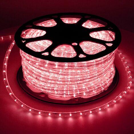 """main image of """"Tube lumineux LED Luminaires de tube à l'intérieur de la lumière rouge Chaine IP44 30m"""""""