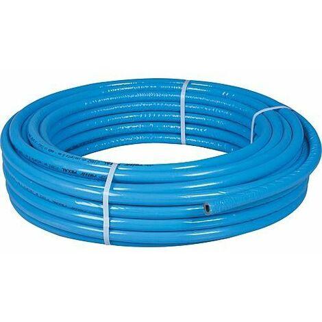 Tube multicouche EVENES PEXAL 26 x 3 mm - couronne de 50 m isloation 6mm - bleu