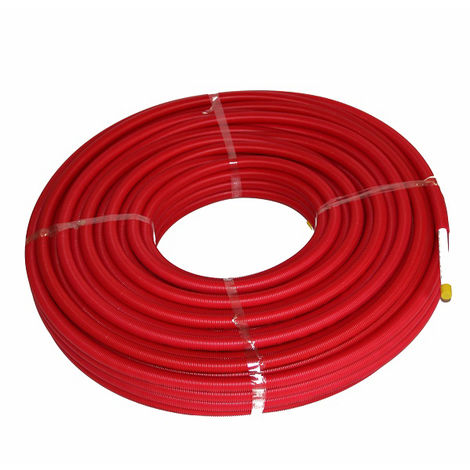 Tube Multicouche gainé UPONOR D20x2.25 ROUGE 75 metres