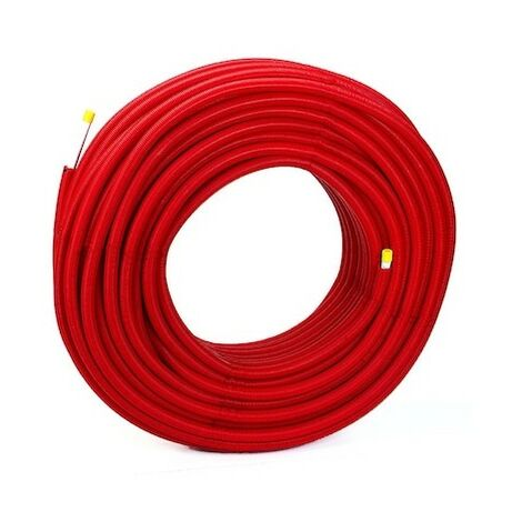 Tube multicouche Multiskin gainé rouge - 32x3 - Couronne de 50m