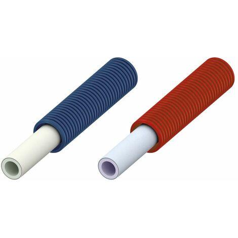 Tube multicouches GAINE en couronnes - Diamètre : 16 x 2 - Lg 75 m - Rouge