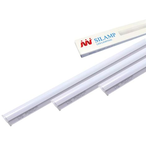 Tube Néon LED 120cm T5 18W - Blanc Froid 6000K - 8000K - SILAMP