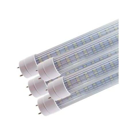 Tube Néon LED 120cm T8 20W (Pack de 5) - Blanc Chaud 2300K - 3500K