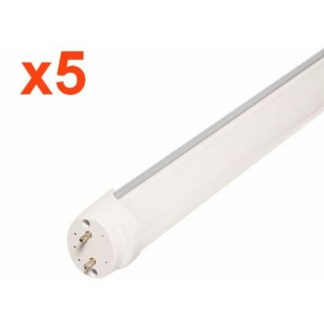 Tube Néon LED 120cm T8 36W (Pack de 5)