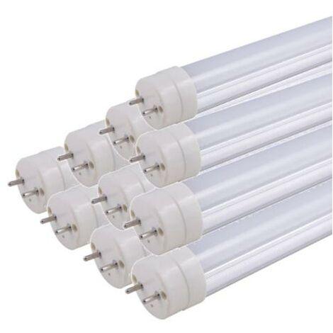 Tube Néon LED 150cm T8 50W (Pack de 10) - Blanc Neutre 4000K - 5500K