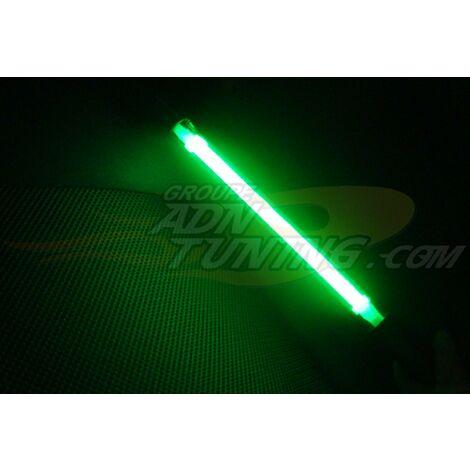 Tube Neon Vert - 30cm - 12v - allume-cigare