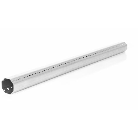 Tube octogonal 1.50m pour volet roulant - Diam.60mm - Recoupable